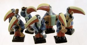 The Complete Toucan Band Set - Small Toucan Band - SOLD